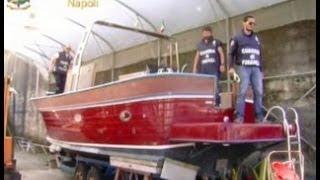 Napoli - Sequestro di beni tra cui uno yacht di 26 metri al boss Gennaro Cimmino (30.05.12)