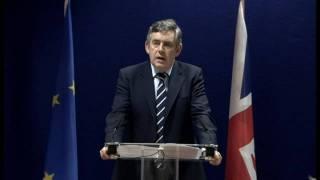 Brown congratulates Ashton on EU job