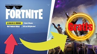 HOW TO PLAY TO SAVE THE WORLD ON FORTNITE FREE - PATCHEd!!