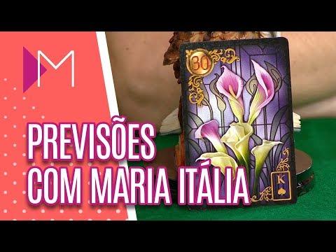 Previsões Maria Itália - Mulheres (23/08/2018)