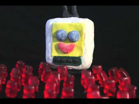 Las Masas - Mass Society - gummy bear Stop Motion