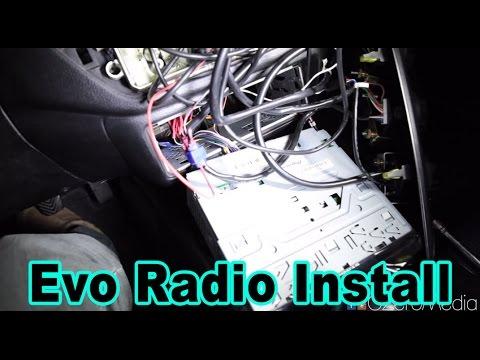 How To Install Aftermarket Radio In Evo - Voltex Evo Build #22 - YouTubeYouTube