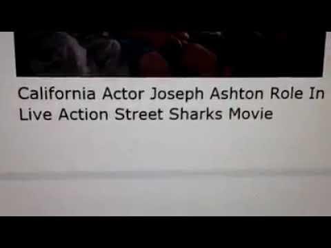 California Actor Joseph Ashton Role In Live Action Street Sharks Movie
