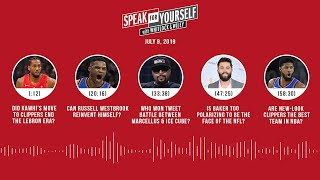 SPEAK FOR YOURSELF Audio Podcast (7.9.19) with Marcellus Wiley, Jason Whitlock | SPEAK FOR YOURSELF