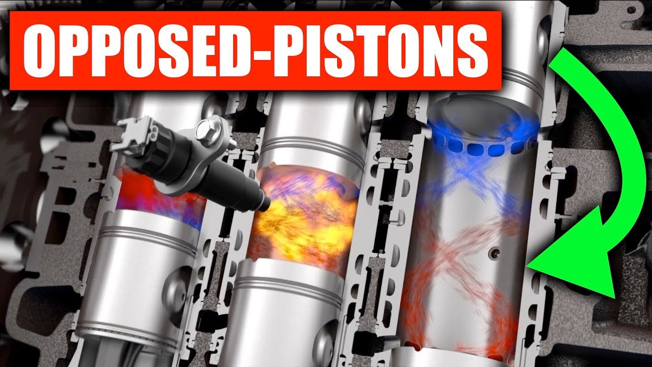 Opposed Piston sel Engines Are Crazy Efficient on