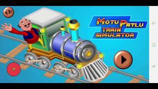 Motu Patlu Train Simulator Gameplay ALL LEVELS screenshot 2