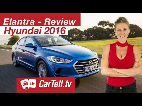 2016 Hyundai Elantra Review CarTell.tv