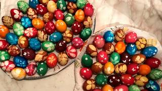 Karfreitag-2 kreative Methoden Eier zu färben/Veliki petak-Kako da napravite ukras za Uskrs?