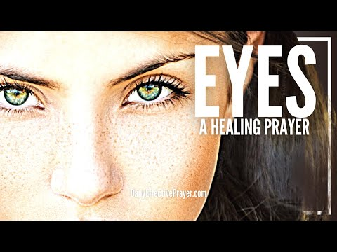 Prayer for eye surgery