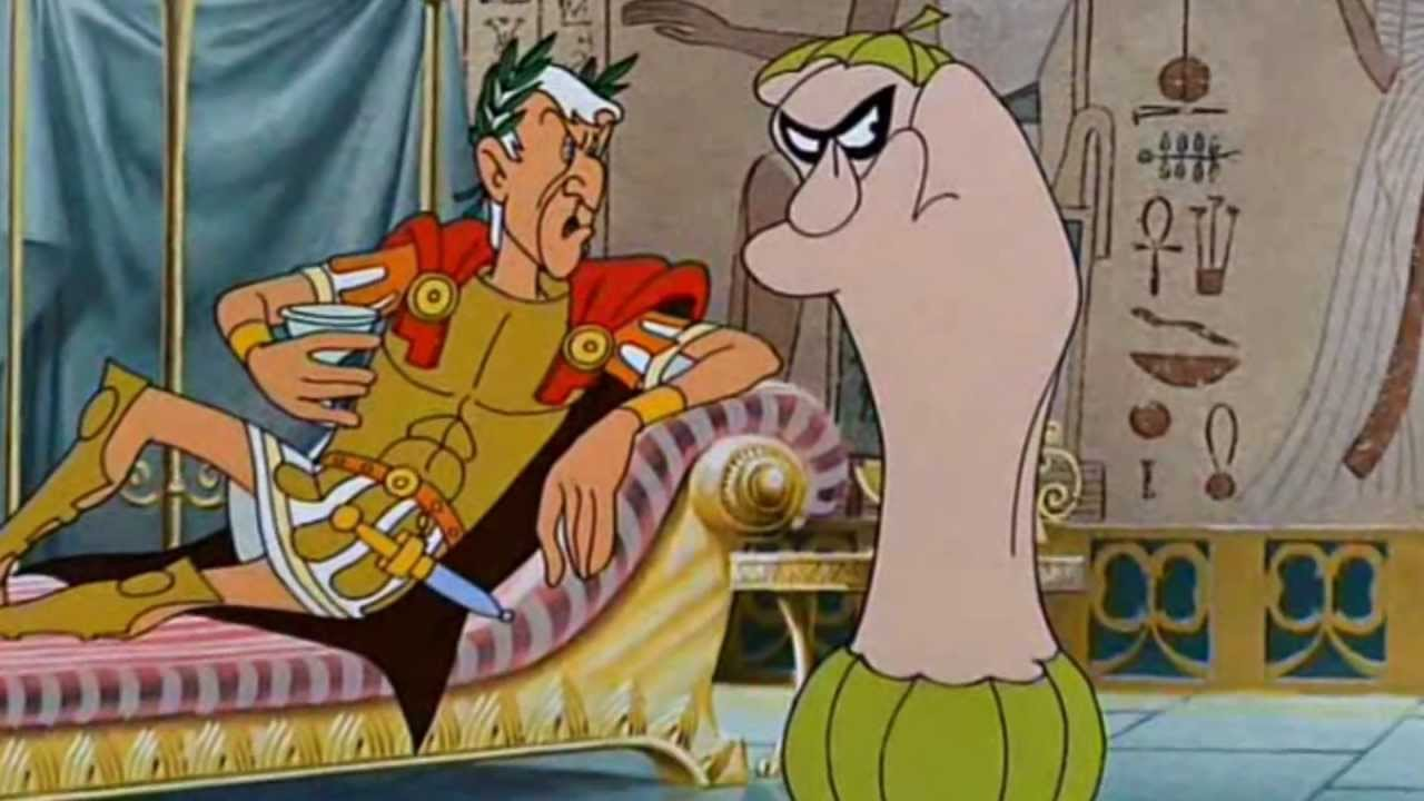 Caesar Cartoon And Julius Cleopatra