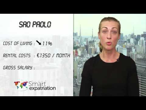 Sao Paulo - Cost of Living, Rental Costs & Gross Salary