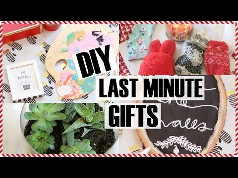 20 DIY & LAST MINUTE GIFT IDEAS!