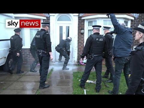 Raids on 'county lines' drug gangs