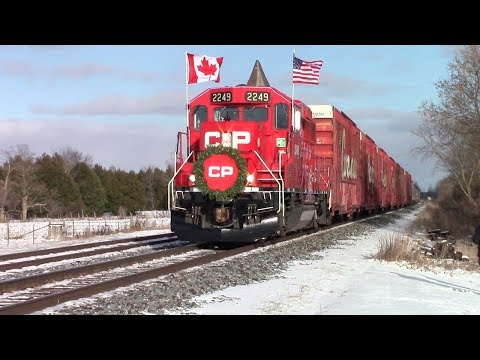 Chasing The 2017 Canadian Pacific Holiday Train | November 27th, 2017