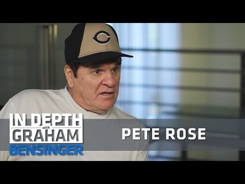 Pete Rose: Blatant PED use, but not Barry Bonds
