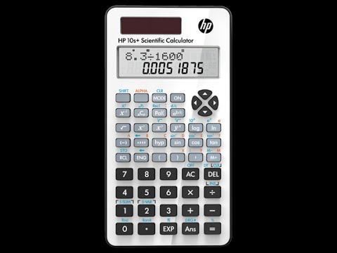 hp 10s scientific calculator youtube rh youtube com Calculadora Financeira HP 48GX Calculator