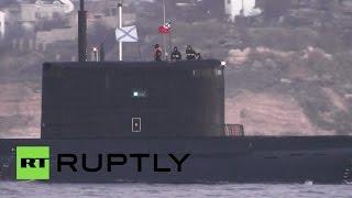 Подлодка «Ростов-на-Дону» прибыла на базу в Севастополе после участия в операции против ИГ в Сирии