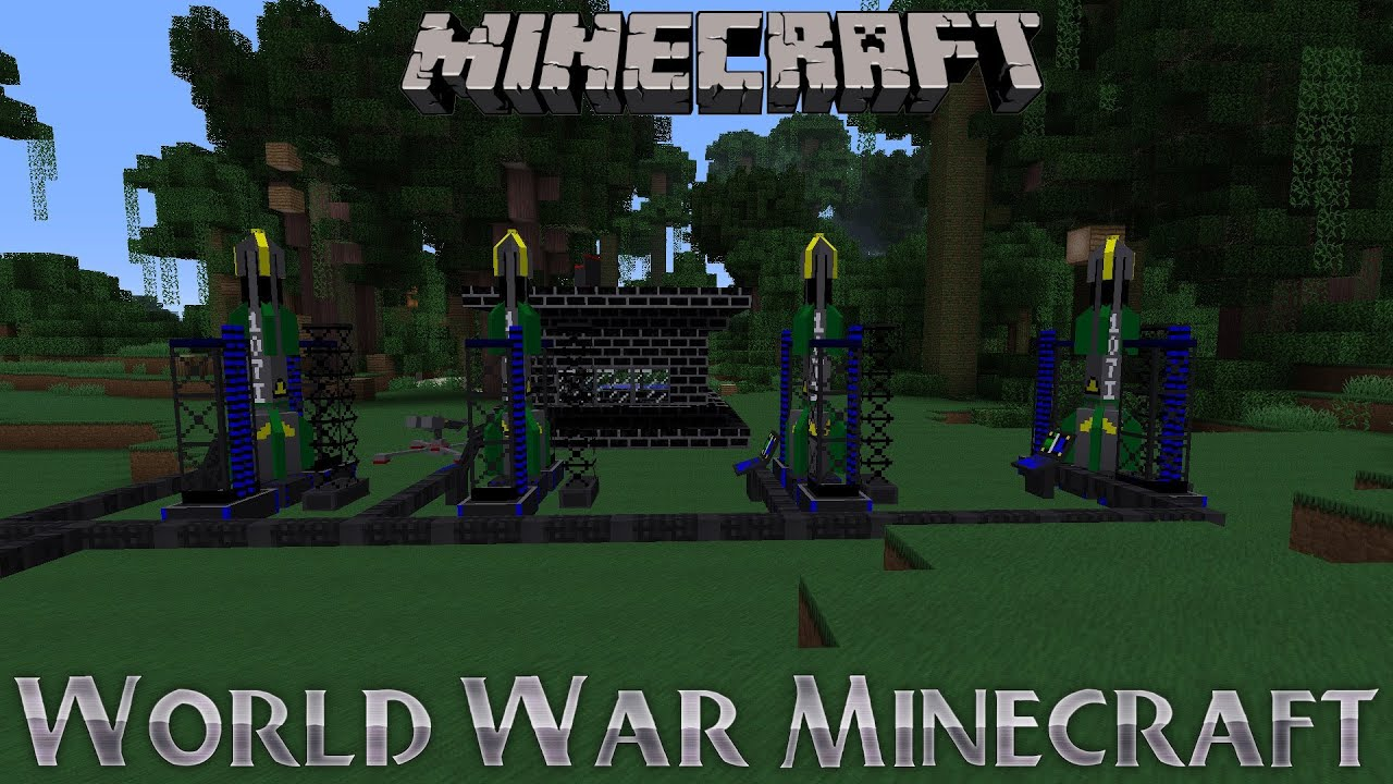 Minecraft Voltz : World War Minecraft - Minecraft Voltz : Playing with  Imports