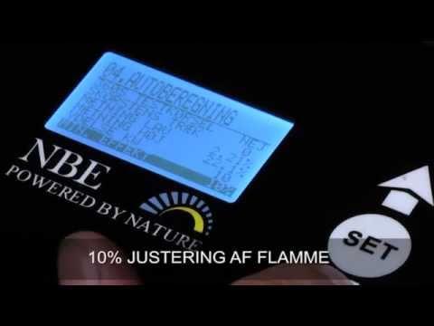 06 Fine Tuning the System NBE wood pellet burner