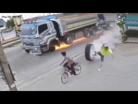 Luckiest People Survive Close Calls! OMG