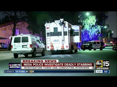 Man stabbed to death in Mesa