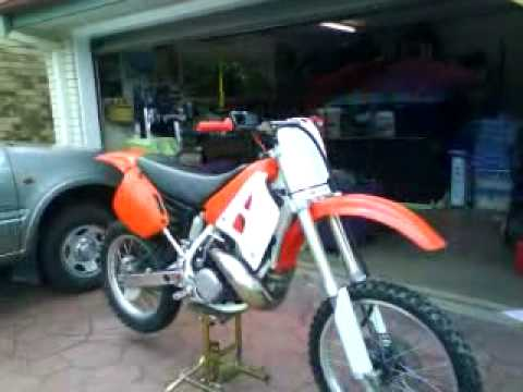 1991 honda cr 250 youtube rh youtube com 87 CR250 90 CR250