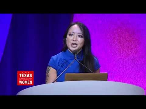 """Before I Die"" Creator Candy Chang Speaks at the 2015 TX Conference for Women"
