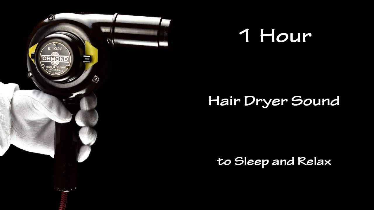 Hair Dryer Sound 144 | Visual ASMR | 1 White Noise to Sleep