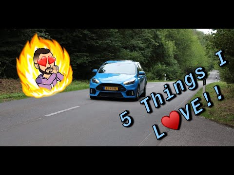 5 Things I Love About My 2016 Ford Focus RS!!