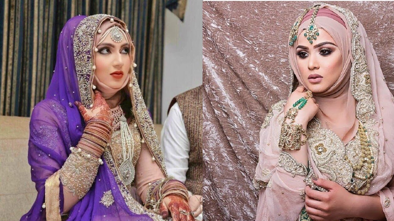 New Wedding Hijab collection 2018// Muslim Bridal hijab