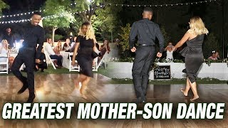 The Greatest MOTHER SON Dance EVER!! *Shocking*