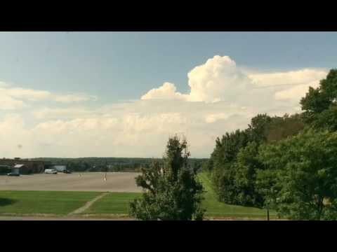 Thunderstorm formation timelapse from AccuWeather HQ 8-28-16
