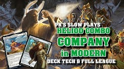 Heliod Sun Crowned Combo - Theros Beyond Death Cards in Modern Company - MTG Deck Tech and Gameplay