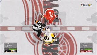 NHL 19 Detroit Red Wings vs Pittsburgh Penguins Gameplay HD 1080p60FPS