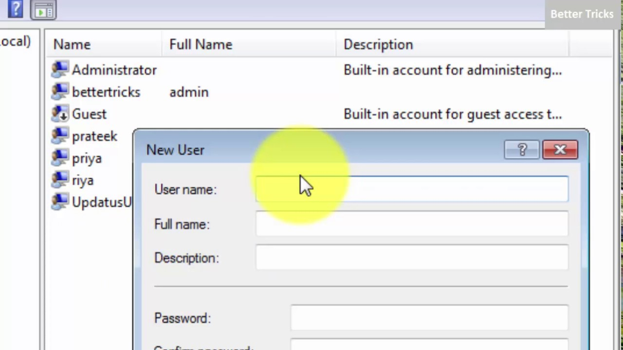 how to give administrator rights to user in windows 7  8  10