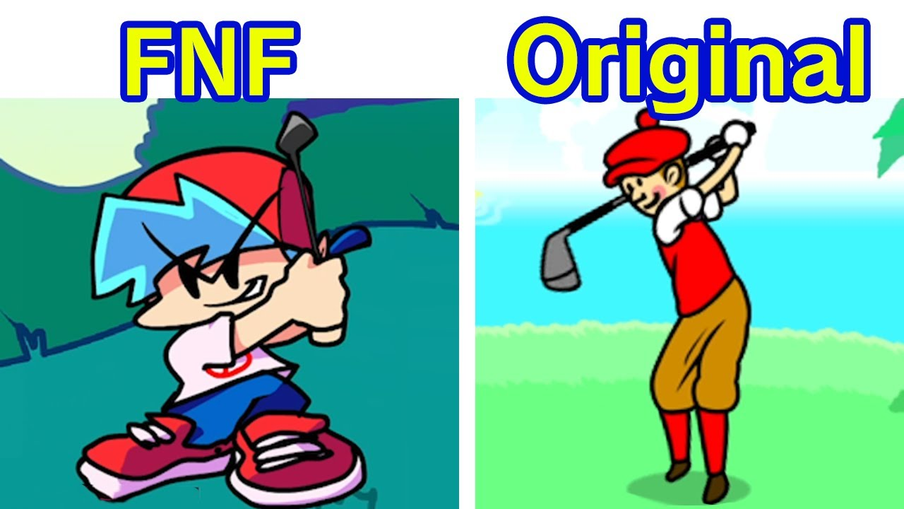 Friday Night Funkin' Vs Rhythm Heaven Fever - Hole in One [FNF MOD]