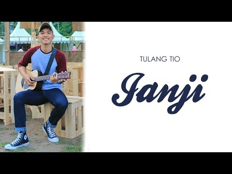 "TULANG TIO -JANJI (Acoustic)"" Official Chord & Lyric Video"