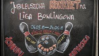 Druga kolejka Konkretnej Ligi Bowlingowej