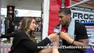 Anthony Joshua Describes How He Ended Up Being A Boxer