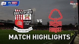 Brentford 2 Nottingham Forest 2 - Jota in the last minute rescues a point for The Bees
