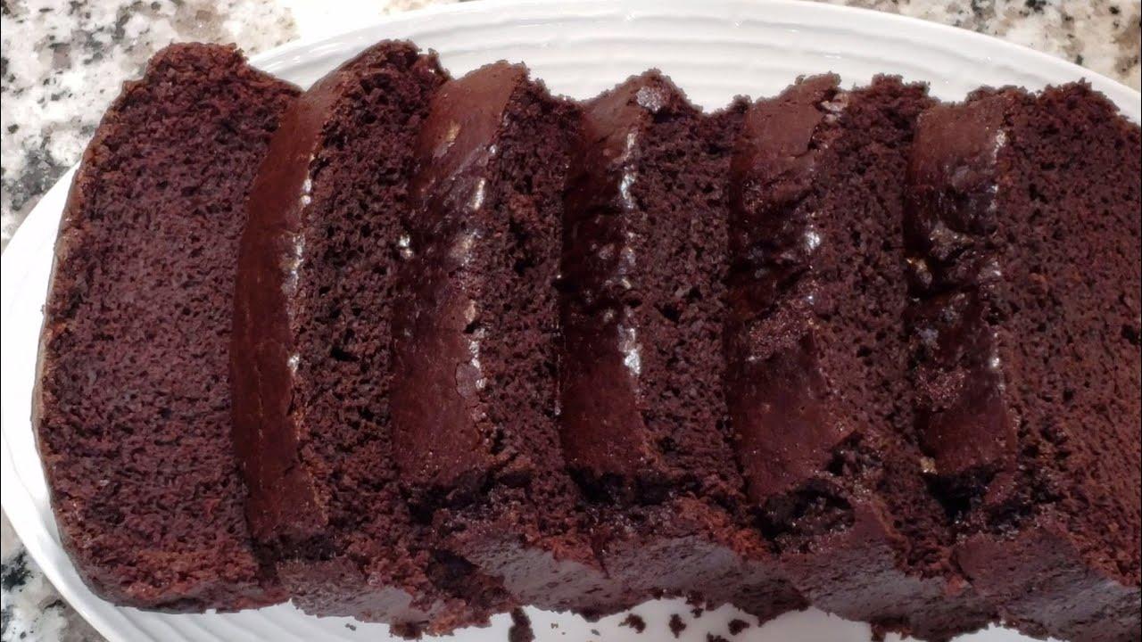 เค้กช็อกโกแลต ไม่ใส่นม ไม่ต้องใช้เครื่องตีเค้ก   แม่บ้าน บัลแกเรีย