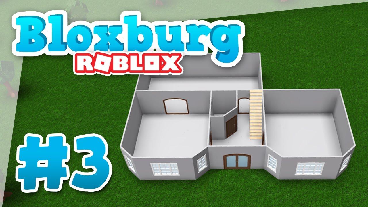 Bloxburg 3 Building My New Home Roblox Welcome To Bloxburg