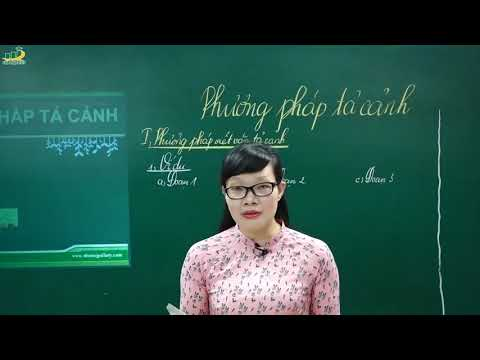Ngữ Văn Lớp 6 –Bài Giảng Phương Pháp Tả Cảnh Ngữ Văn 6|Rèn Kĩ Năng Làm Văn Miêu Tả|Cô Lê Hạnh
