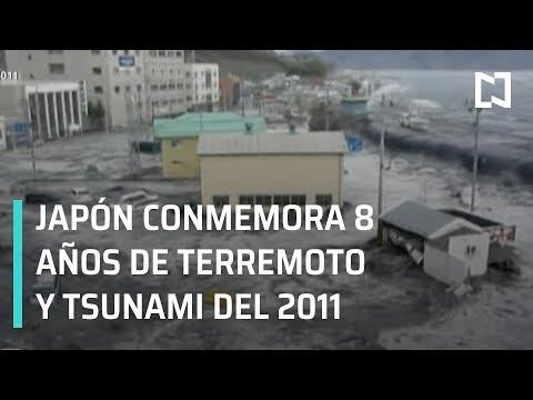 Japón conmemora 8 años de terremoto y tsunami de 2011 - Las Noticias