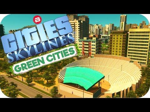 Cities: Skylines Green Cities ▶EUROPEAN SUBURBIA◀ Cities Skylines Green City DLC Part 24
