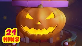 It's Time For Happy-Halloween, Scarier Than It's Ever Been | Halloween Kids Song | Infobells