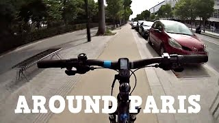 видео По Парижу на велосипедах