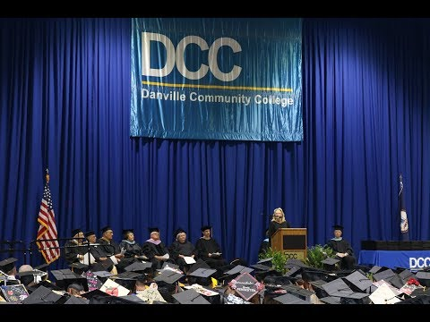 Danville Community College Graduation 2019