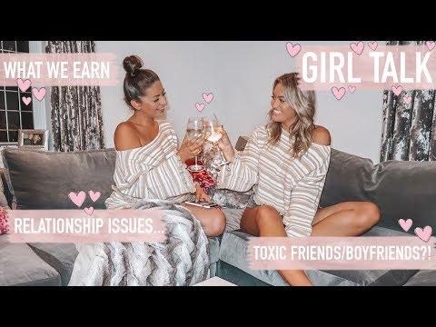 GIRL TALK w GEORGIA MAY · Relationships Toxic Friends Money?  Emily Diane Philpott