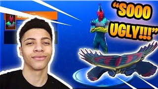 MYTH REACTS TO *NEW* FLYTRAP SKIN!!! (RARE SKIN) | Fortnite Battle Royale